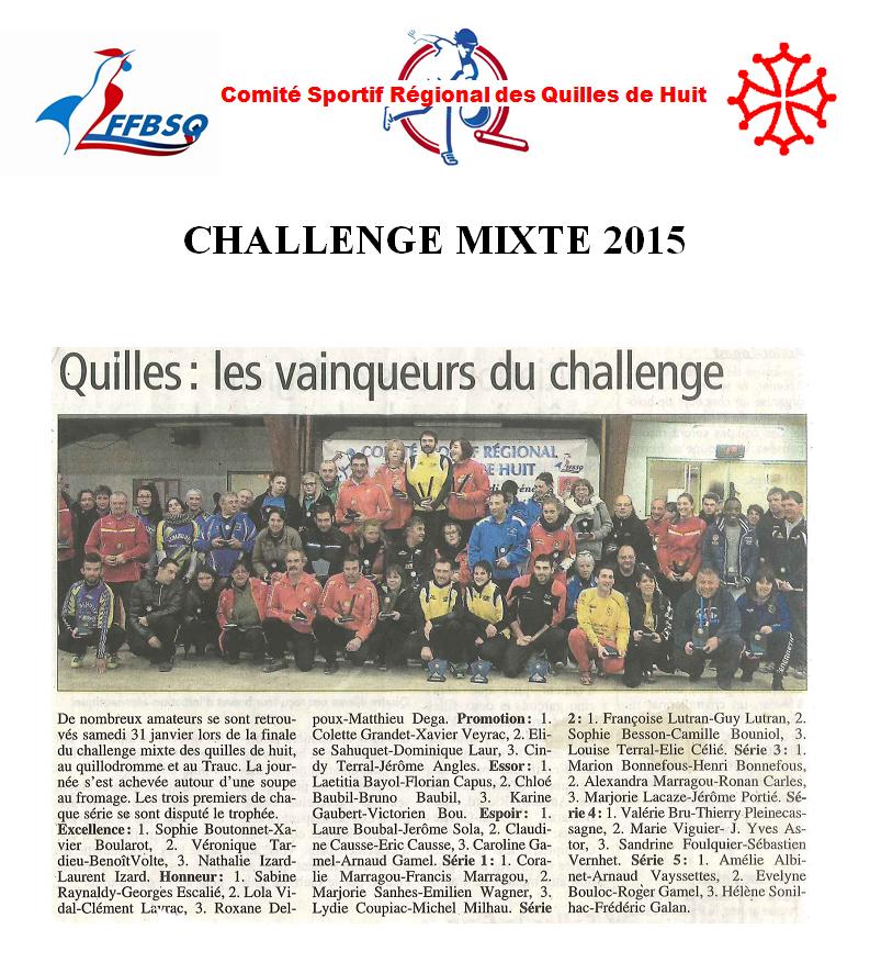Mixte 2015